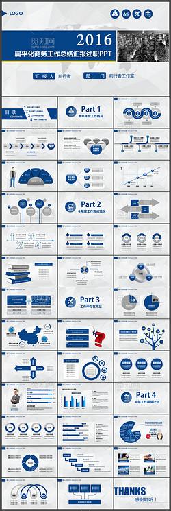 2017工作总结述职计划报告PPT模板