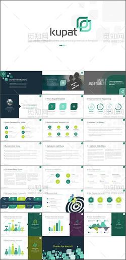 高端创意商务公司介绍企业宣传PPT模板