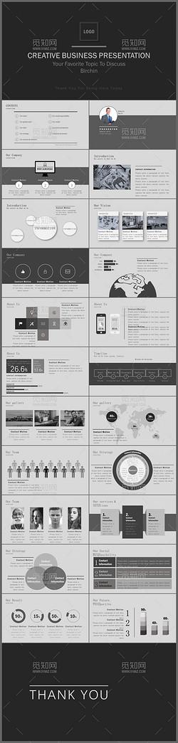 黑色极简商务年终工作报告工作总结新年计划商务汇报ppt模板