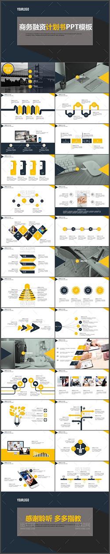最新欧美商业计划书营销策划书通用ppt模板