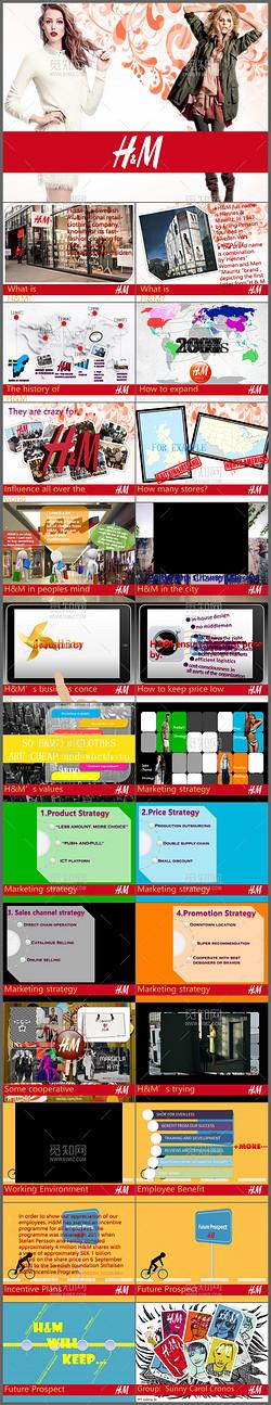 2017时尚大气简约欧美风公司简介企业宣传通用动态PPT模板