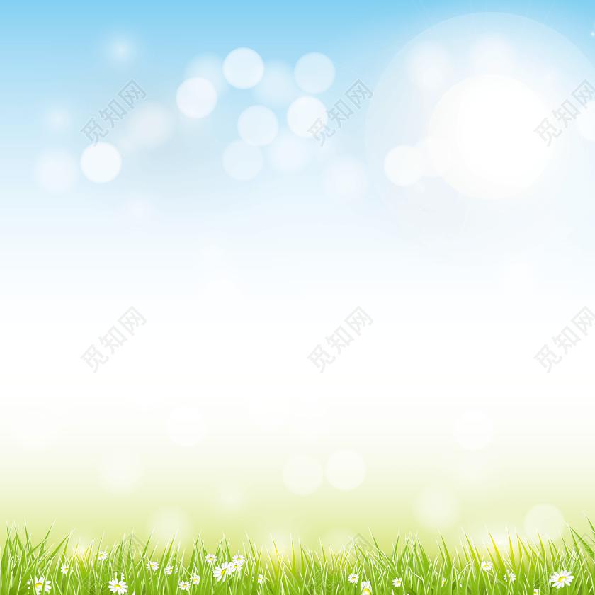 蓝色渐变光效蓝天风景背景图免费下载_背景素材_觅知网