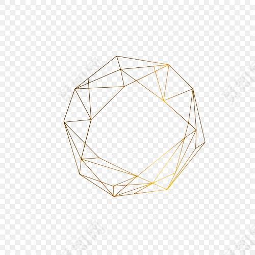多面三角支架免费下载_png素材_觅知网