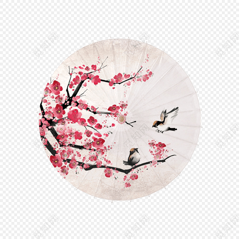 png 免费下载png png素材中国风古典文雅油纸伞元素素材标签:古风 免