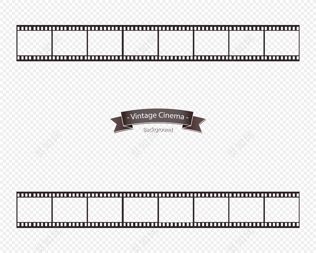 胶卷边框装饰免费下载_png素材_觅知网