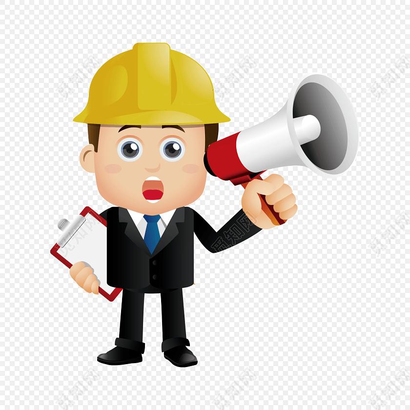 免费下载png png素材男士工程师喇叭矢量素材标签:工具 免抠素材 卡通
