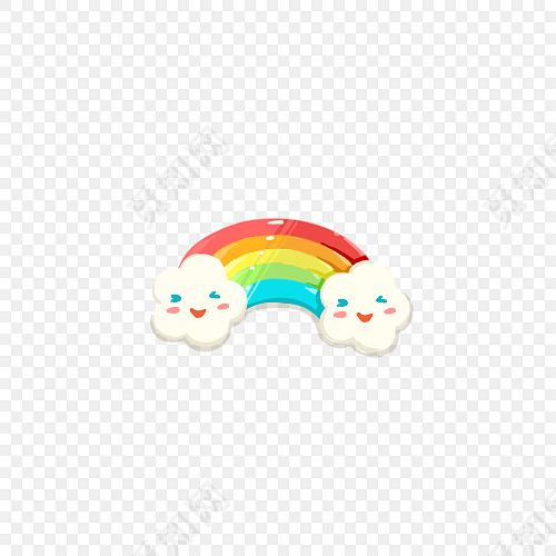 png 免费下载png png素材卡通彩虹矢量素材标签:彩虹 免抠素材 七彩