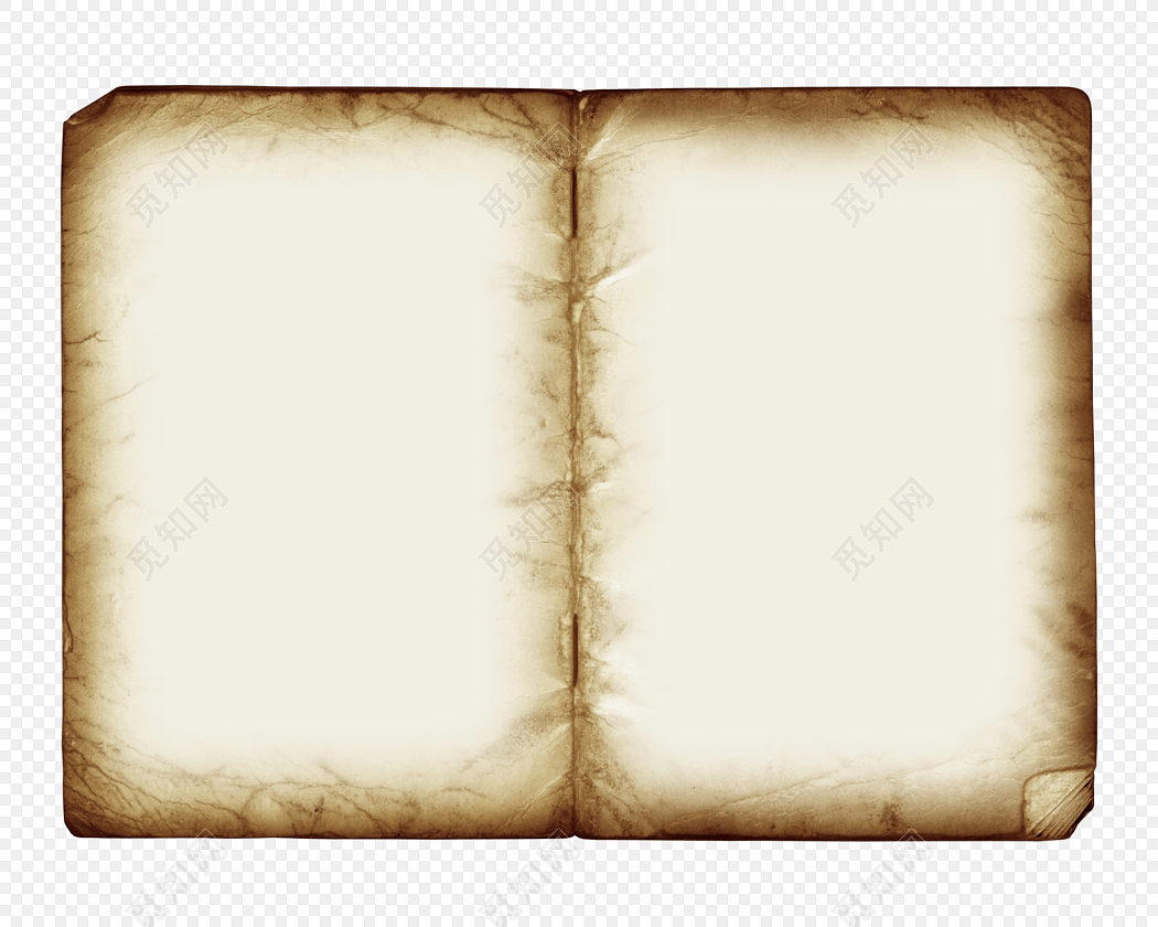 手绘卡通书本素材