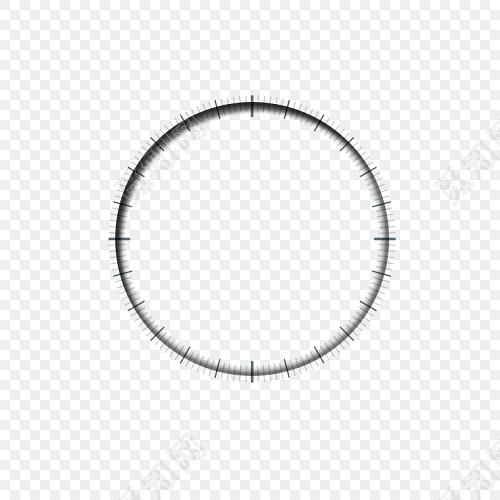 圆圈钟表时钟边框图片素材免费下载_觅知网