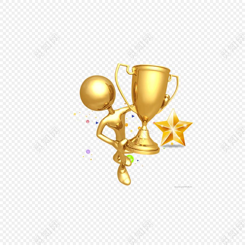 源文件格式: png 免费下载png png素材奖杯金色小人素材下载标签:3d
