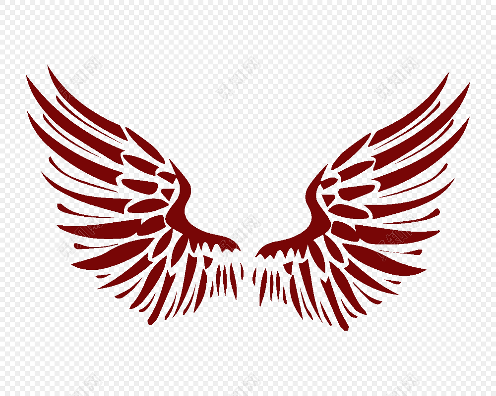 梦想翅膀免费下载免费下载_png素材_觅知网