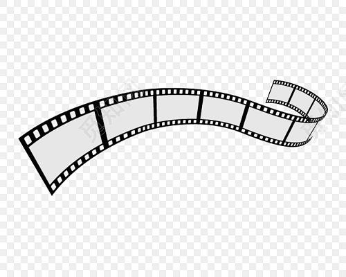 复古电影胶卷矢量素材