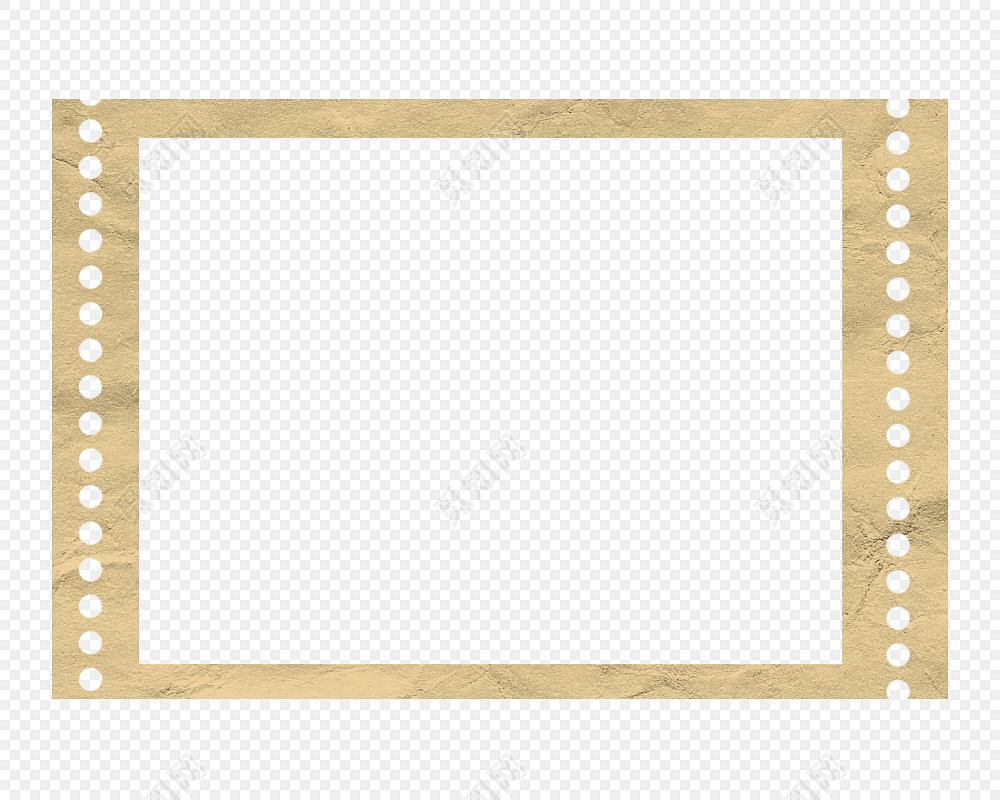 电影胶卷边框矢量素材