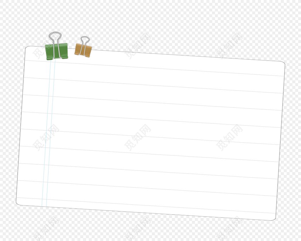 卡通边框卡通气泡 卡通信纸 夹子免费下载_png素材_觅