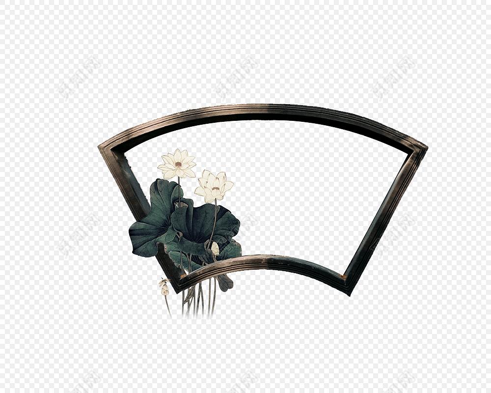 复古边框 免抠素材 古风 中国风 花纹边框