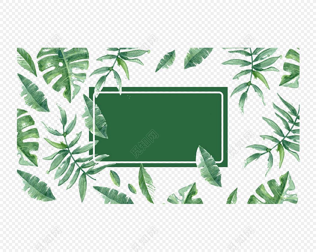花边 花边 花圈 相框 信纸标签:花纹边框 免抠素材 信纸 春天 绿色