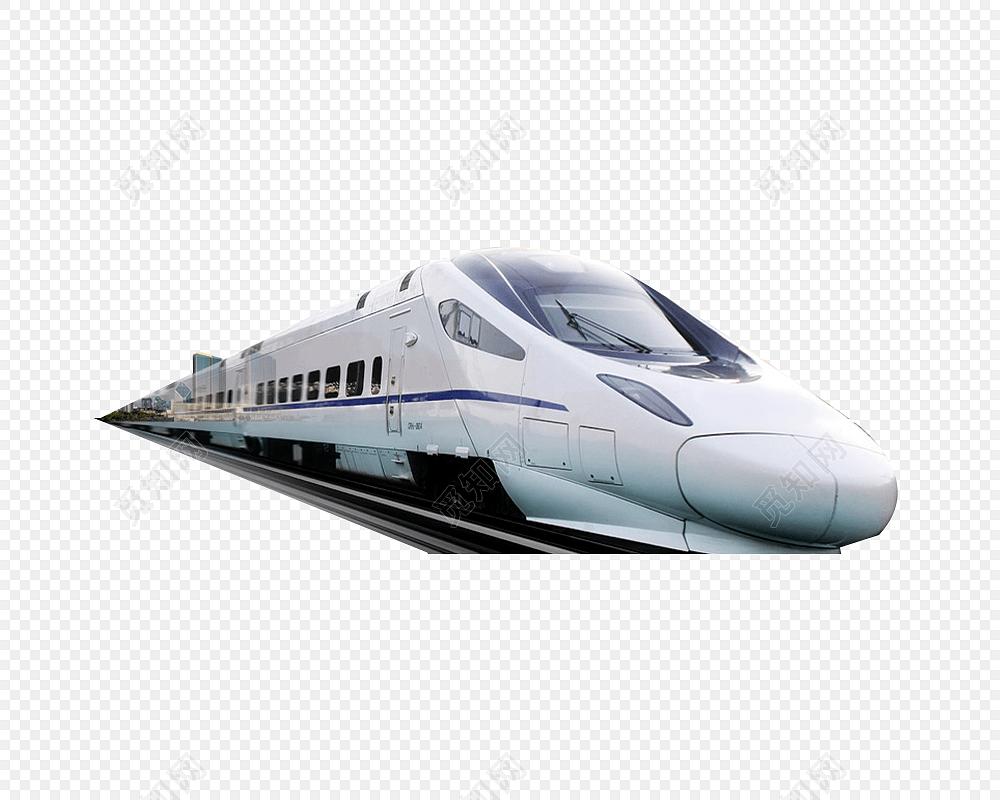 矢量火车列车动车
