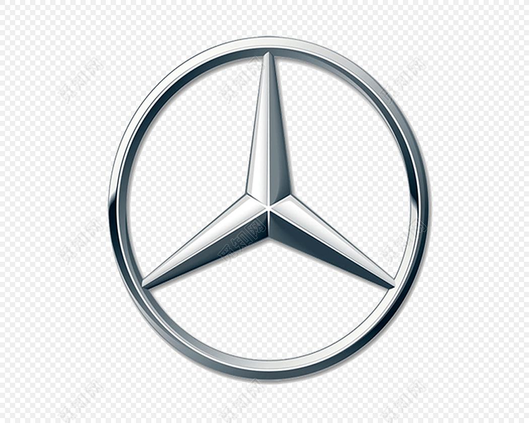 汽车奔驰车标素材免费下载 PNG素材 觅知网