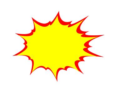 爆炸框促銷驚爆價特價素材