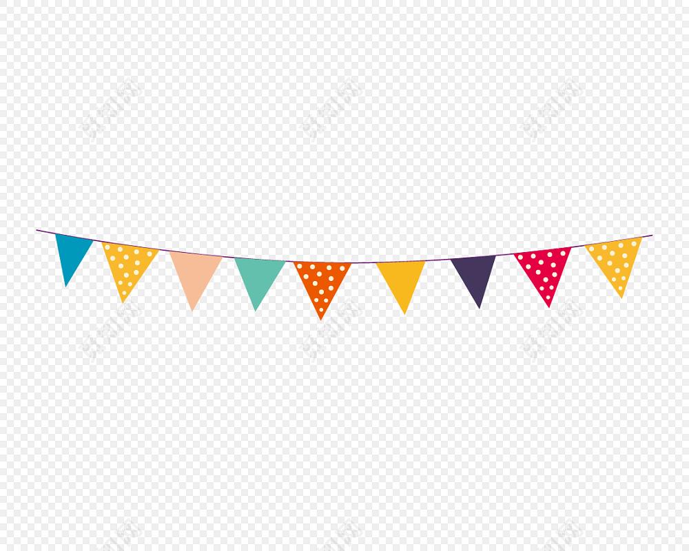 png素材卡通横挂彩旗彩带标签:彩旗 免抠素材 彩旗彩带 矢量素材 彩