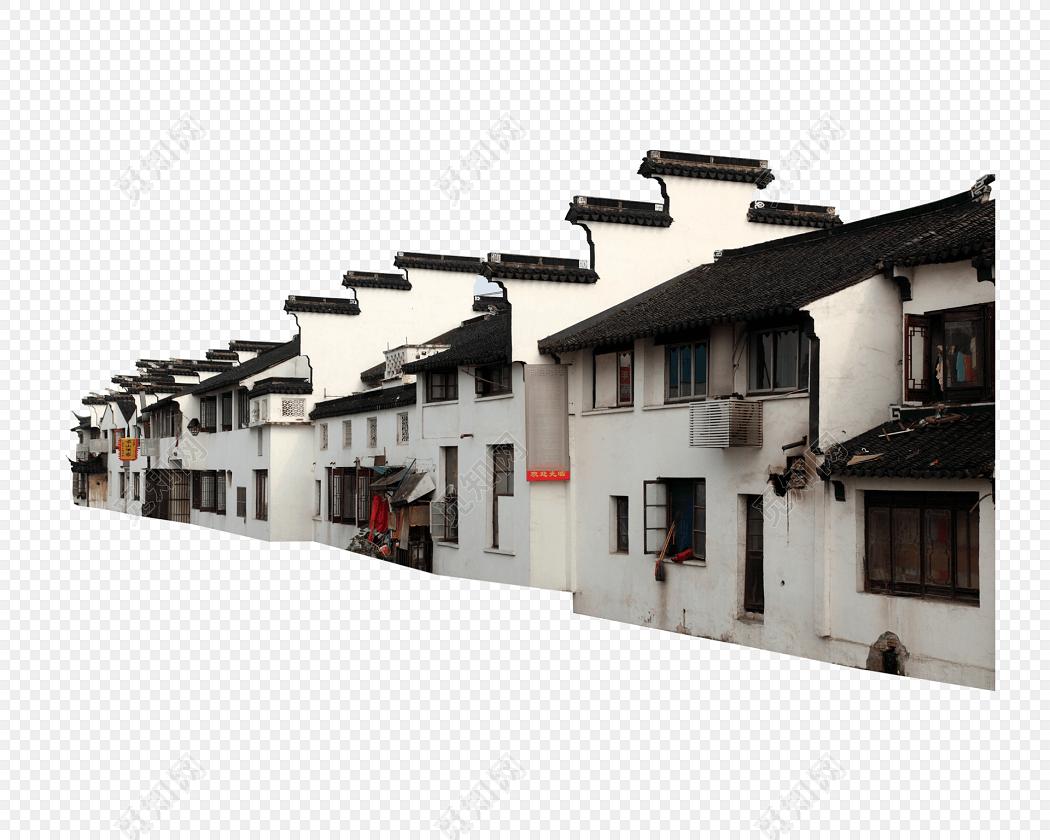 古民居免抠图素材