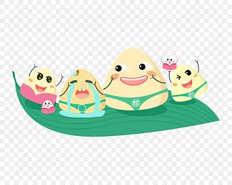 表情 粽子甜粽子粽子人粽子表情包免费下载 png素材 觅知网 表情