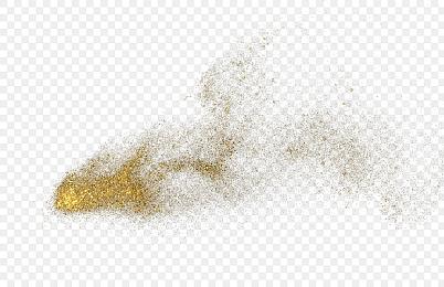 金沙金粉素材