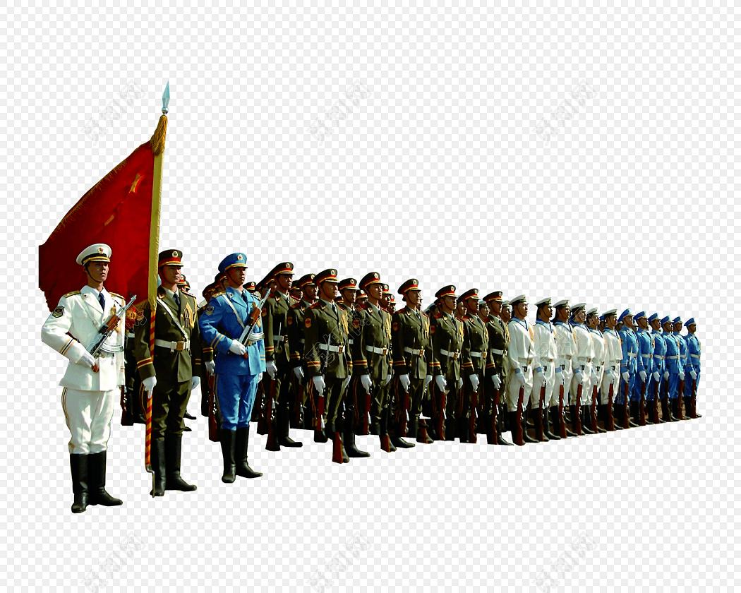 中国军人图片免费下载_png素材_觅知网