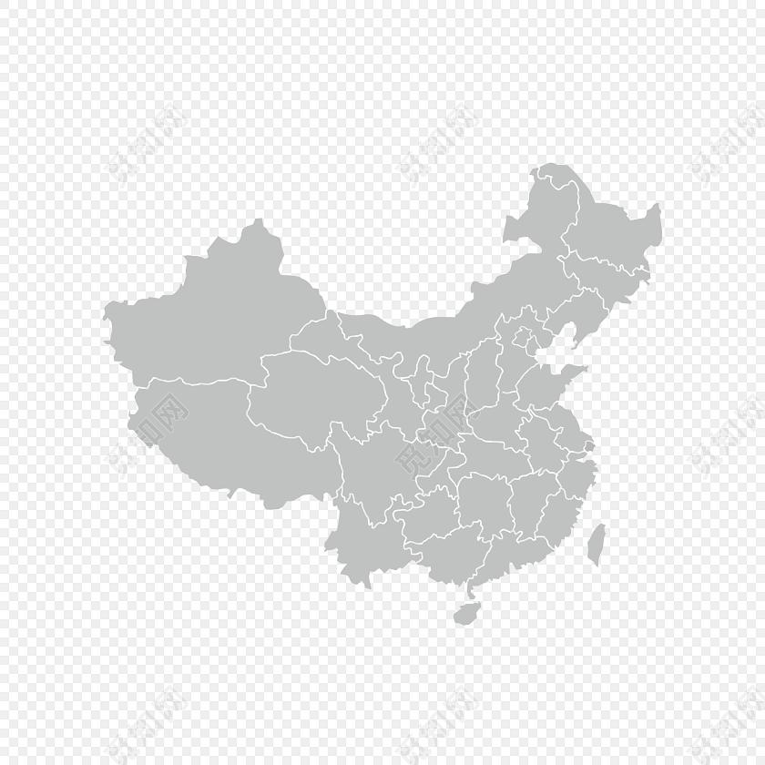 中国地图免费下载_png素材_觅知网