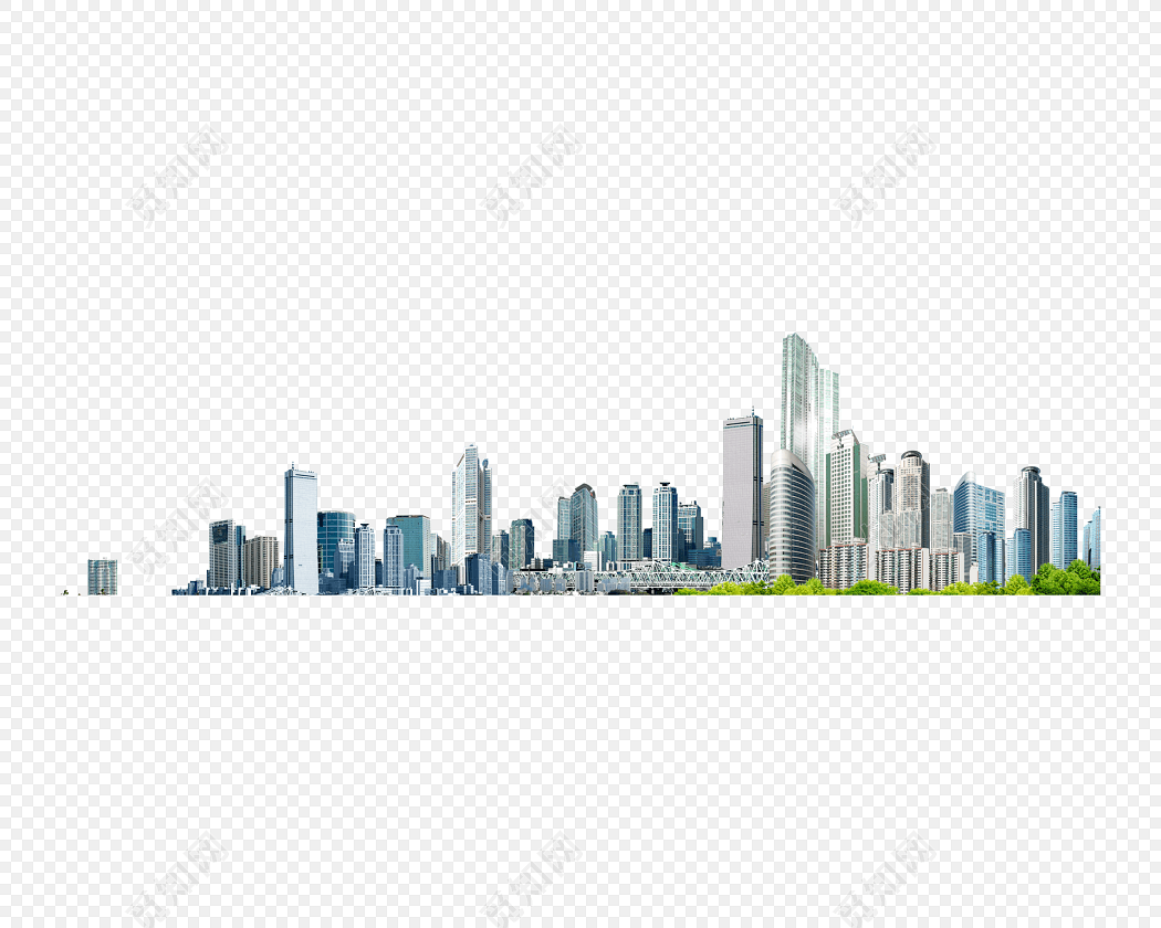 城市建筑高楼大厦背景素材