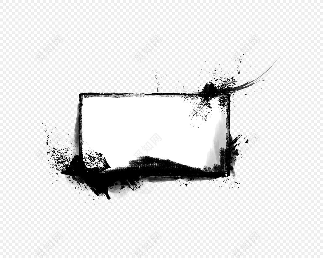 png 免费下载png png素材水墨方框素材标签:免抠素材 古风 中国风
