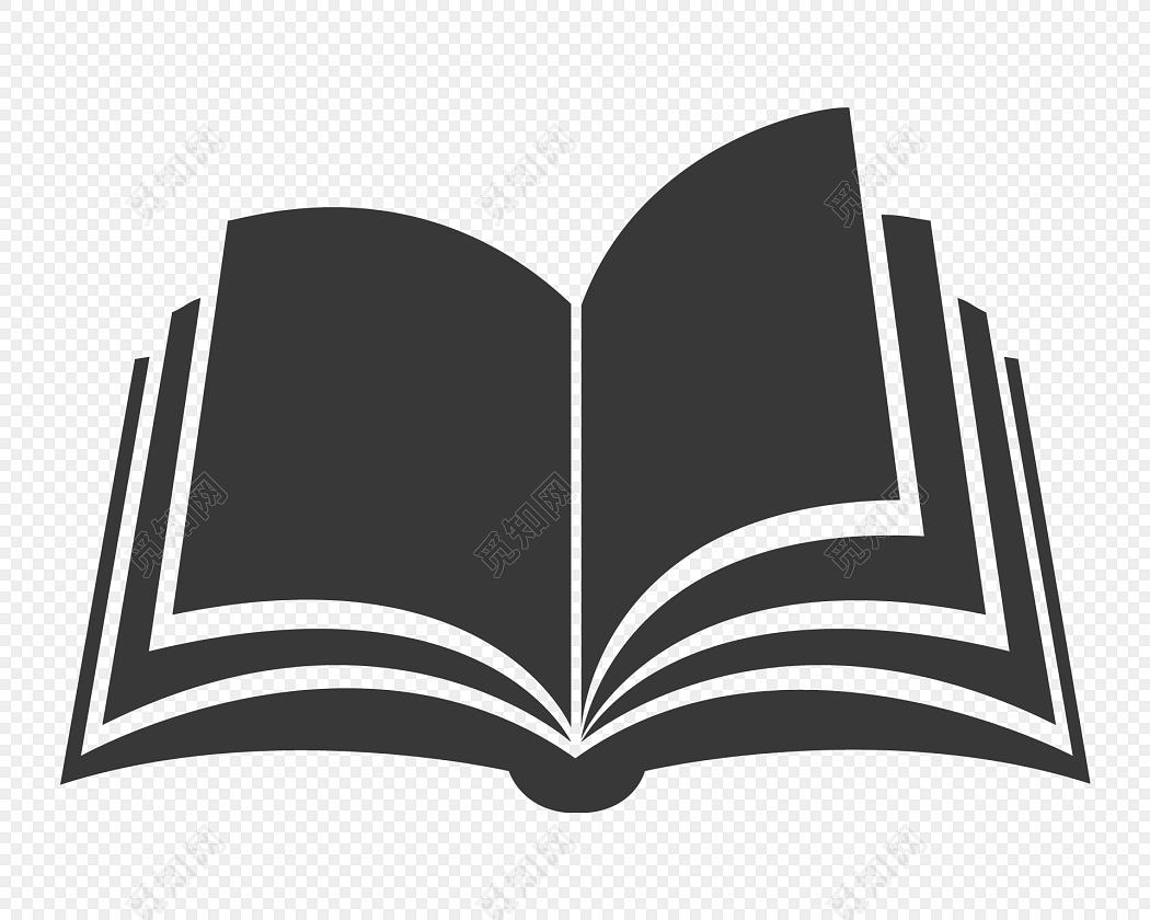 手绘卡通书本矢量素材