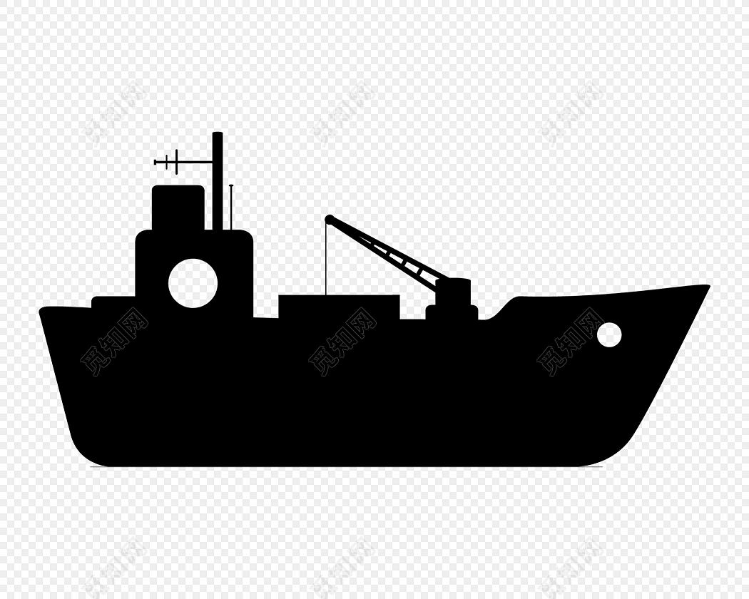 轮船矢量图