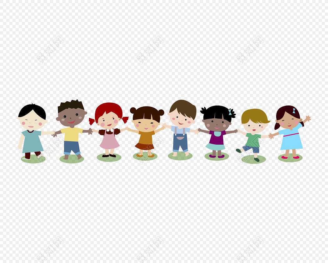 儿童节海报卡通人物素材免费下载_png素材_觅知网