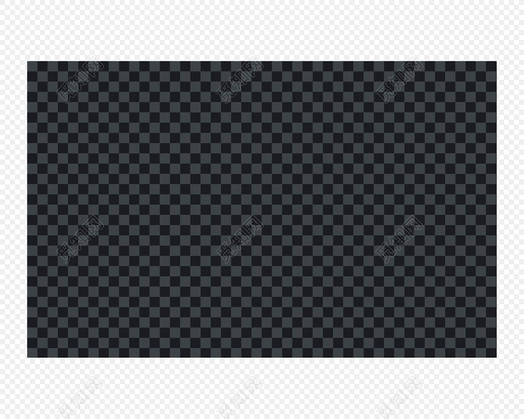 黑色透明背景素材