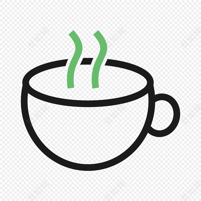 简约简笔画杯子图标素材免费下载_png素材_觅知网图片