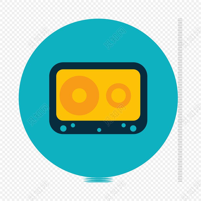 数码电子产品矢量图标素材