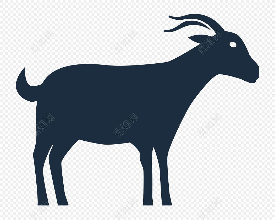 动物羊矢量图素材