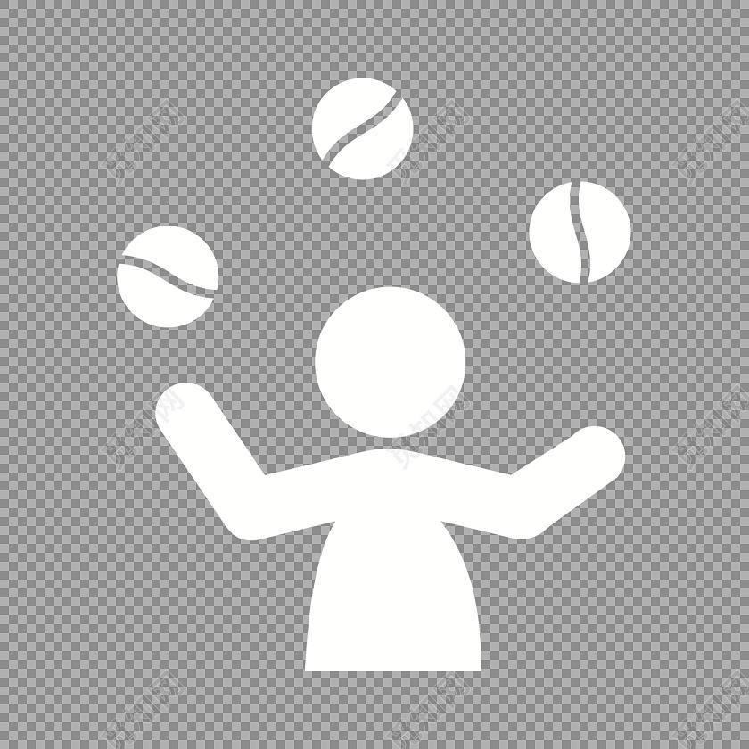 球体运动矢量图素材