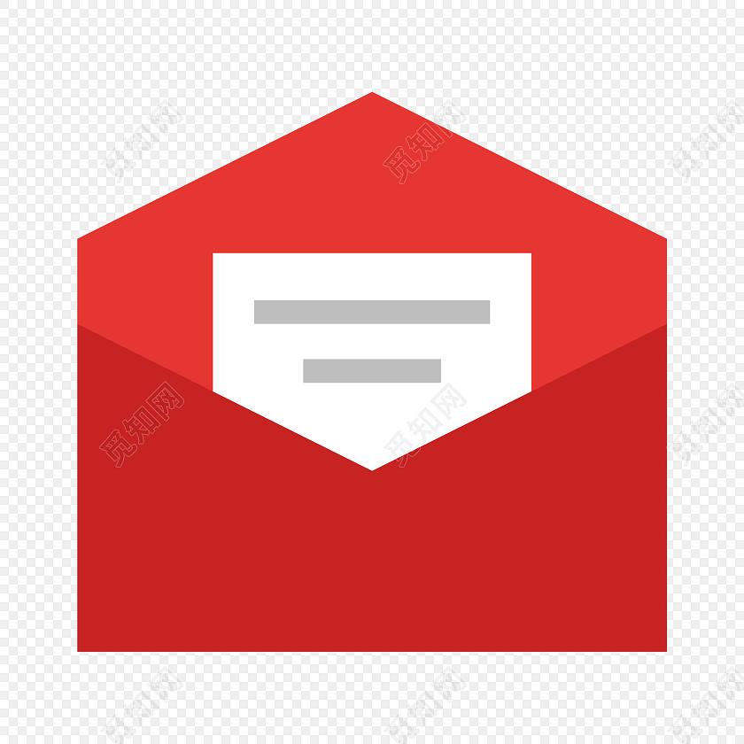 红色信封图标免费下载_png素材_觅知网