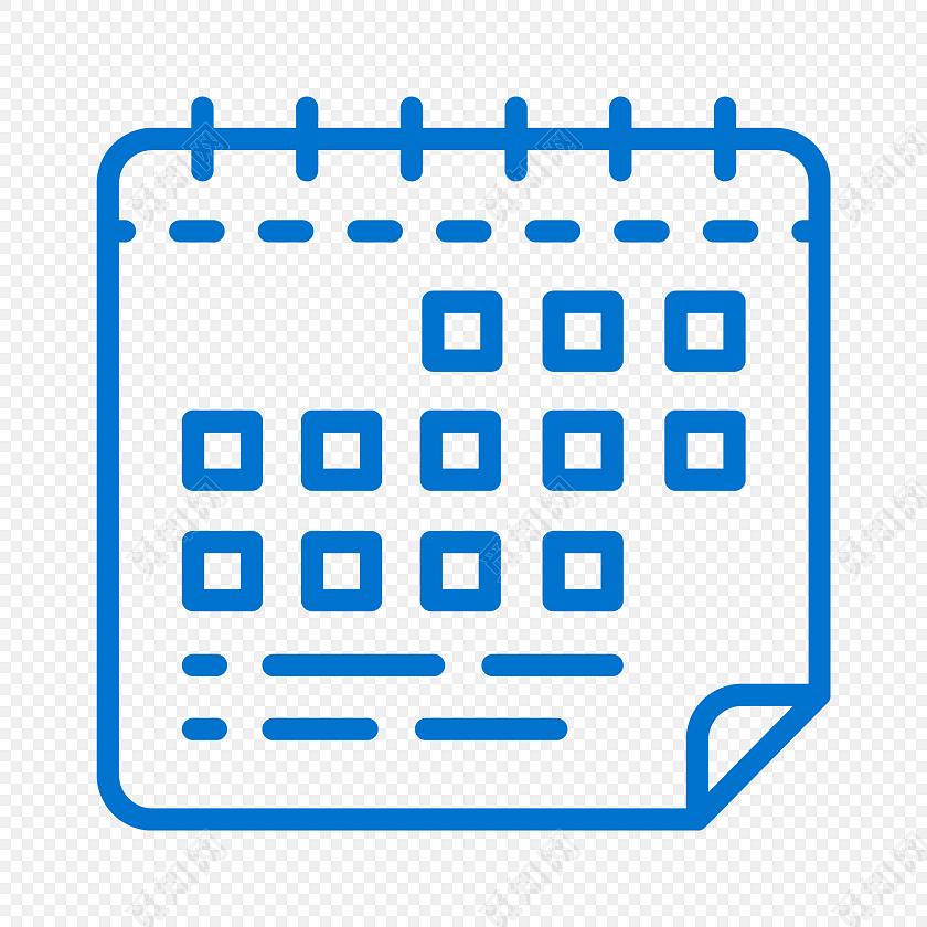 png素材 蓝色简约线条日历图标免抠素材标签:图标 免抠素材 矢量素材
