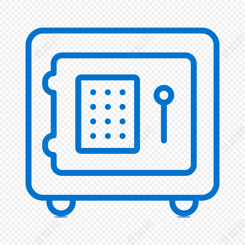 png素材蓝色简约线条密码箱图标免抠素材标签:图标 免抠素材 矢量素材