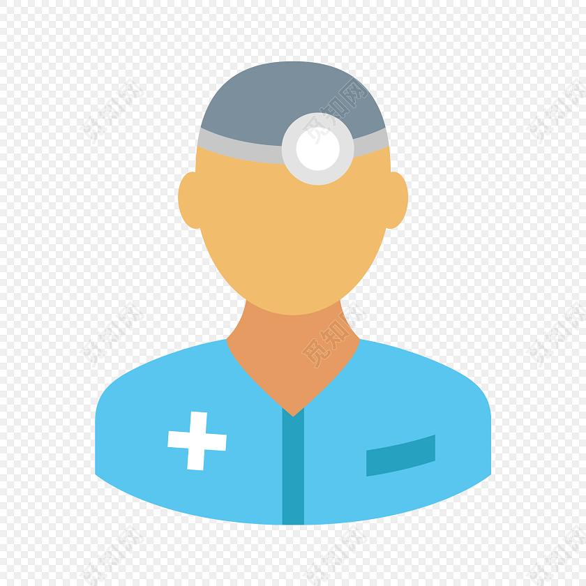 男医生头像图标素材下载