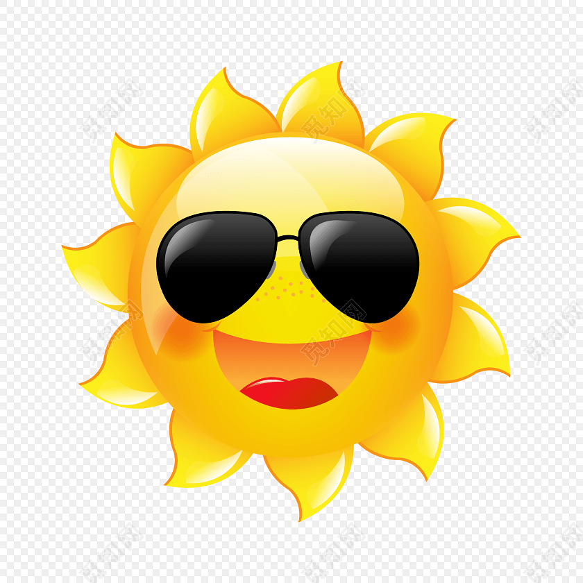 太阳头像大全高清图片