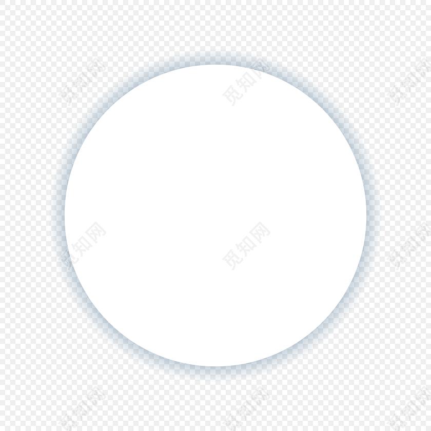 多边形圆形白色底图素材圆形边框