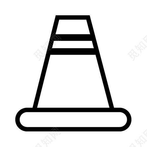 路标的标志矢量元素