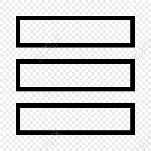 黑色手绘图标方块素材