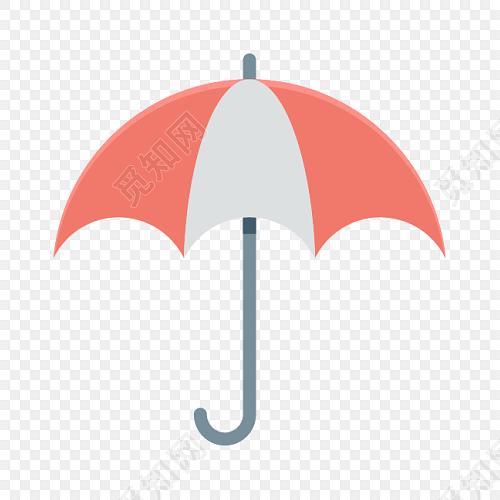 红色小雨伞素材