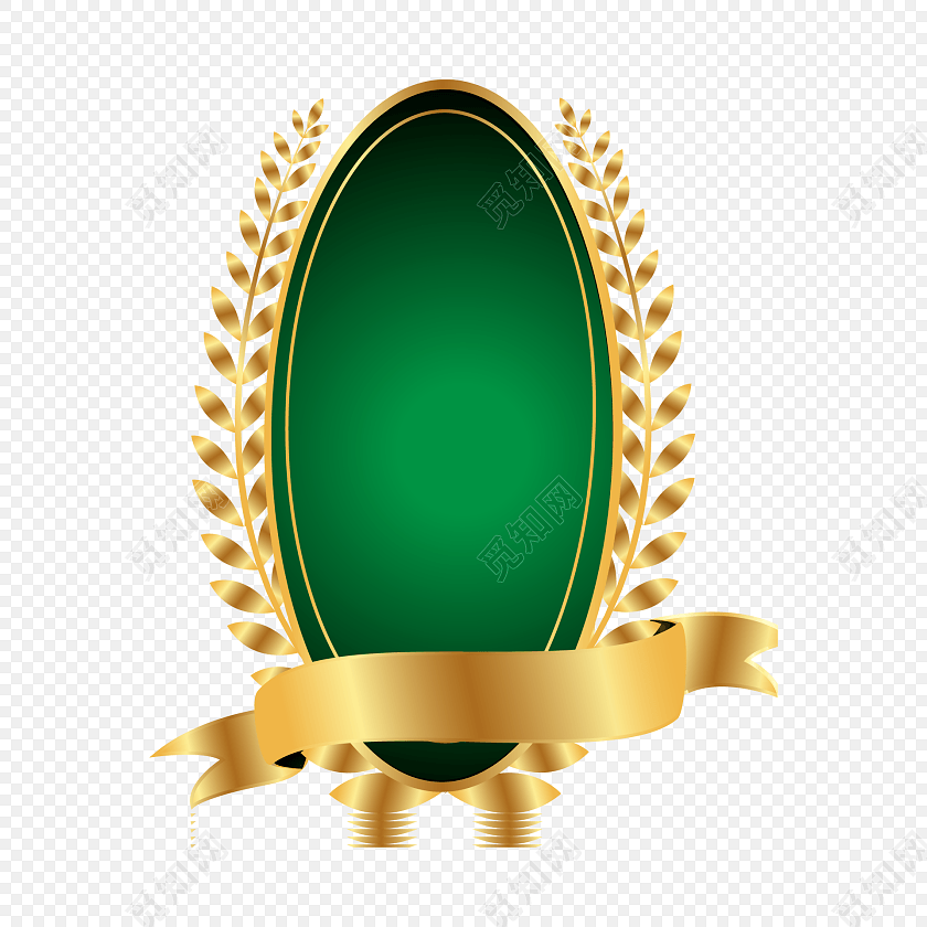 欧式金色标签文本框矢量素材
