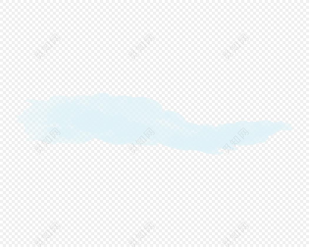 水彩彩色笔刷素材